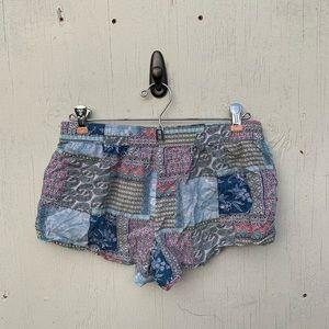 Victoria's Secret Paisley Sleepwear Shorts